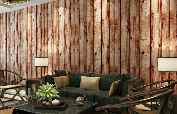 Wallpaper Motif Kayu