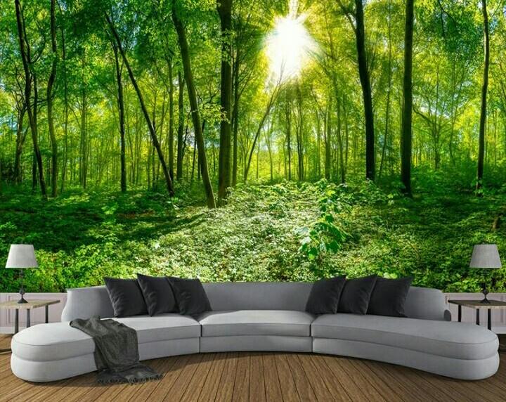 Wallpaperdengan Nuansa Hutan Menyejukkan