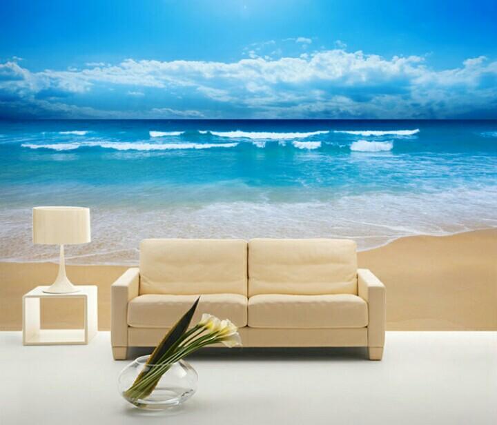 Wallpaper Warna Biru Nuansa Laut